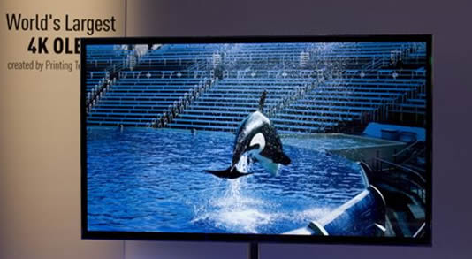 Panasonic 4k TV